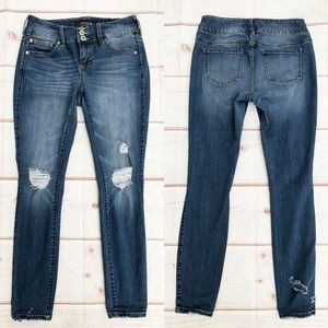 torrid Jeans - Torrid   Destroyed Skinny Jeggings, Size 10R